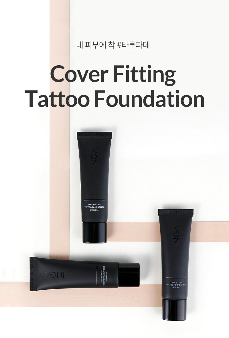 Cover Fitting Tattoo Foundation