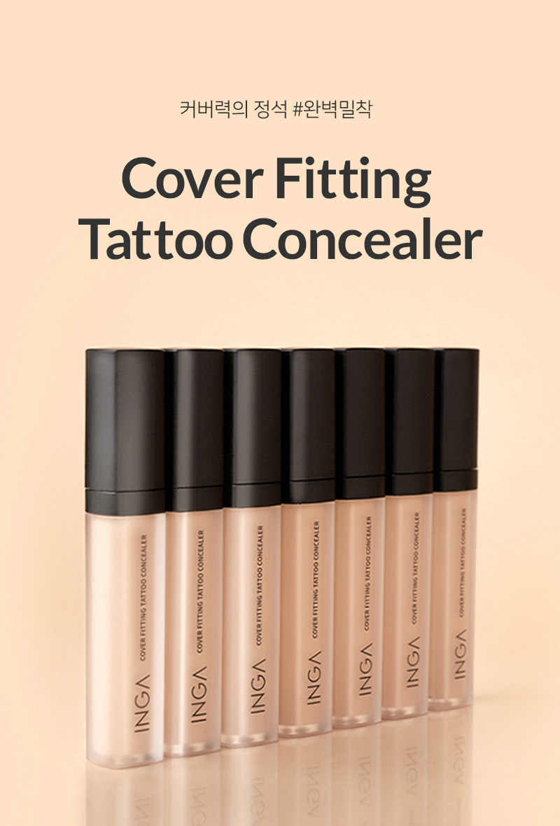 Cover Fitting Tattoo Concealer