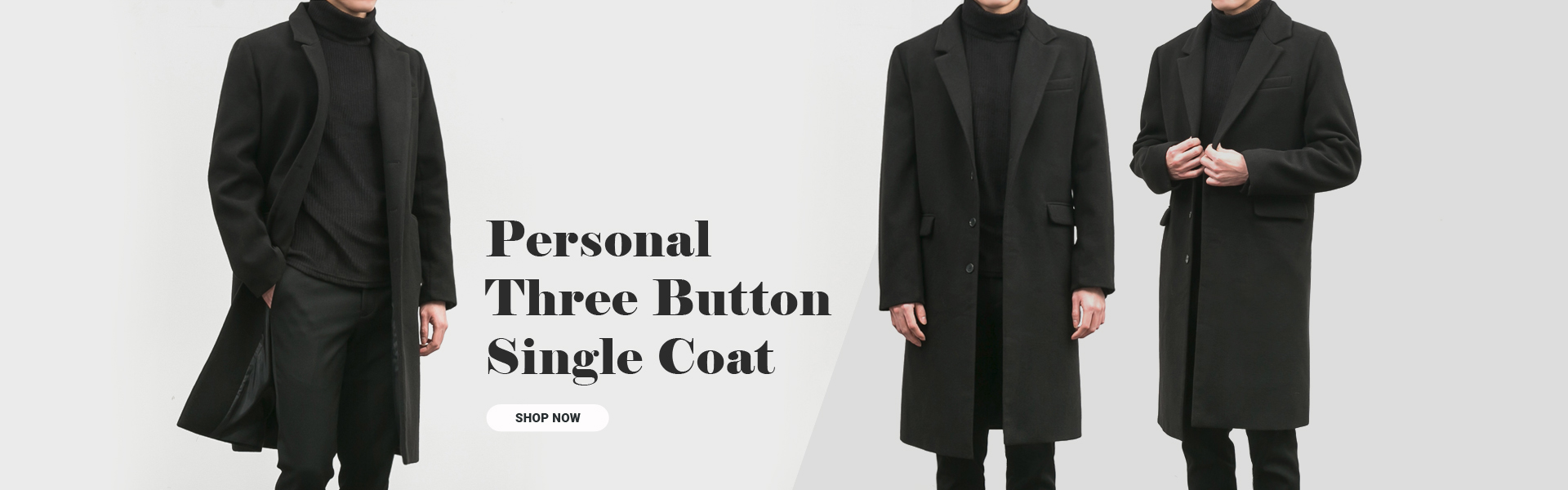Personal Three Button Single Coat[BT1120][Ⅰ]