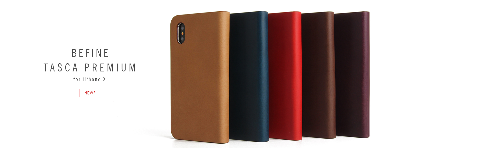 BEFINE tasca Cover premium for iPhone X