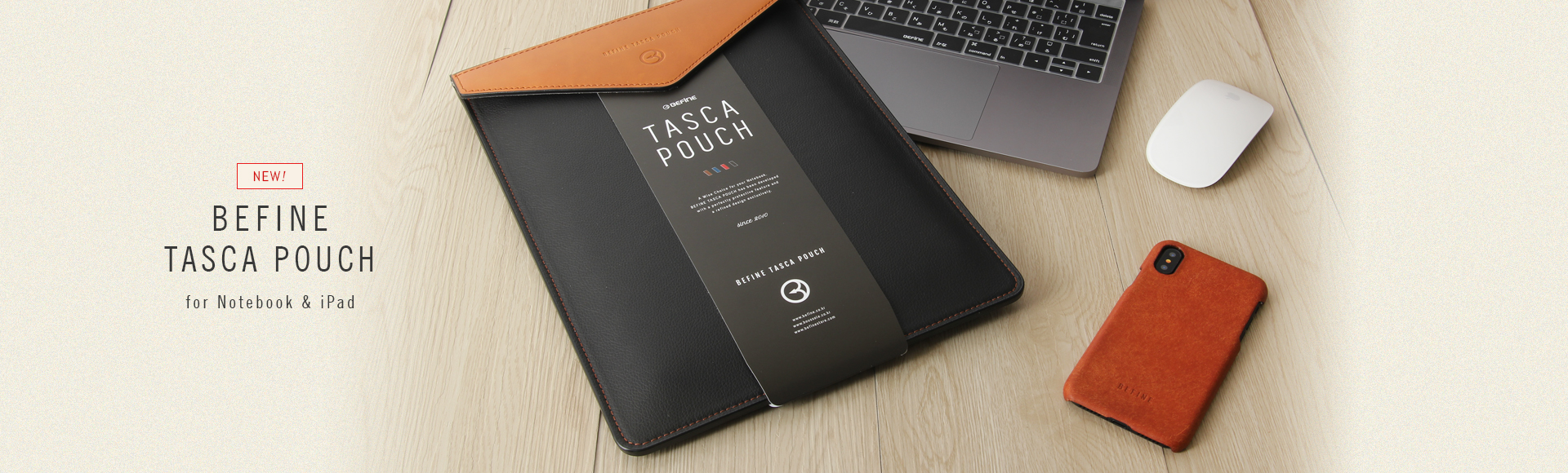 tasca pouch for Notebook, iPad