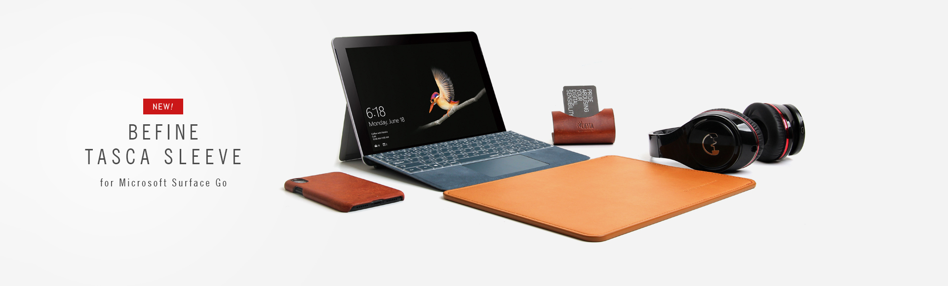 BEFINE Tasca Sleeve for Microsoft Surface Go