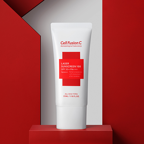 <strong>Cell Fusion C</strong>Toning Sunscreen 100