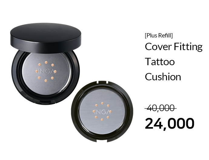 [Plus Refill] Cover Fitting Tattoo Cushion_40%