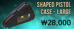 Shaped Pistol Case